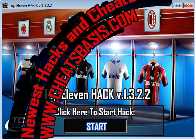 Top Eleven Cheats Hack