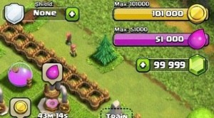 clash of clans working proof